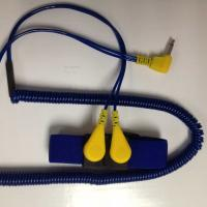 Cheap ESD Dual Coiled Cord Elastic Wrist Strap wholesale