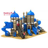 Cheap ISO9001 Outdoor Playground Equipment Light Weight Plastic Material Eco - Friendly wholesale