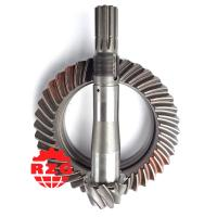 China Professional Spiral Bevel Gear Set Truck Crown Wheel and Pinion Gear on sale