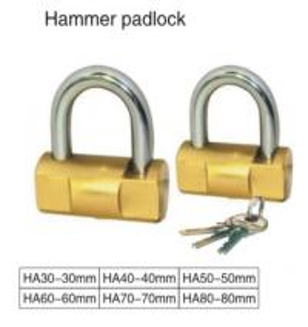 Chrome Plated High Security Keyed Padlock 2 Steel Keys Solid Steel Body