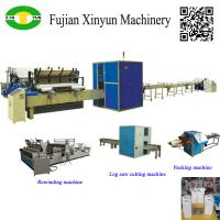 China High speed automatic small toilet roll paper machine production line on sale