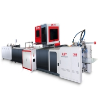 Buy cheap Positioning Accuracy 0.1mm 380V Automatic Case Making Machine from wholesalers