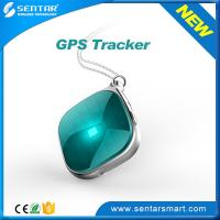 Cheap Triple positioning Luggage mini gps tracker with SOS button GPS Tracking system wholesale