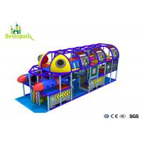 Cheap Professional Indoor Play Center Playground Custom Made For  3 - 15 Years Old wholesale