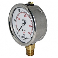 Cheap Stainless Steel Case Industrial Pressure Gauge wholesale