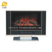 Cheap 600 X 140 X 510 mm freestanding fireplace heater in black color with 1800W power wholesale