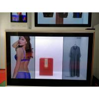 Cheap BARCOLED Transparent Lcd Wall Display Screen 6 Point Infrared Touch Panel With Scrolling Marquee wholesale