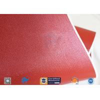 """Cheap Silicone Coated Fiberglass Fabric Thermal Insulation Materials 1010GSM 51"""" wholesale"""