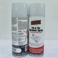 Cheap Tub / Tile Waterproof Spray Paint 12 Ounce White Color Refinishes Wash Basins wholesale
