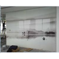 """Cheap Tempered shower enclourses, office partions, acid etched glass, frosted glass, silkscreen glass 96""""x130"""" wholesale"""