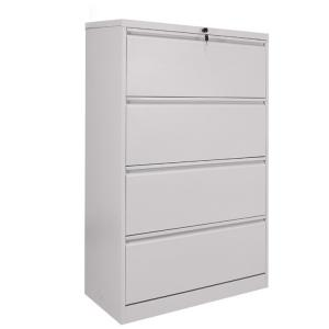 Cheap Office Furniture Lockable lateral metal steel 4 drawer hanging filing cabinet wholesale