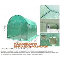 Cheap pc aluminum garden green house,portable houses garden green house,China-made new design green house for agriculture/comm wholesale