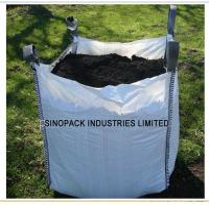 Cheap Standard U-panel 1.5 ton Big Bag FIBC with open top for construction wholesale