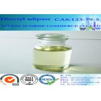 Cheap Dioctyl Adipate Plasticizer CAS 123-79-5 Light Yellow C22H42O4 Cold Resistant for sale