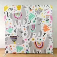 Cheap 8X8 Pop Up Display Backdrop 250 Gsm Knitted Fabric Light Weight Tool Free wholesale