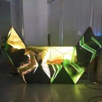 Cheap Triangle Dj Club Diy Led Display 3d , Led Video Wall Panel For Stage / Concert / Tv Station wholesale