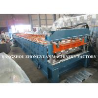 Cheap 440V Decking Roll Forming Machine Sheet Metal Machine 82mm dia.solid steel wholesale