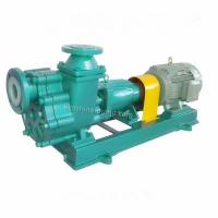 Buy cheap FZB steel lined Fluorine plastic self priming pump corrosion resistant pump from wholesalers