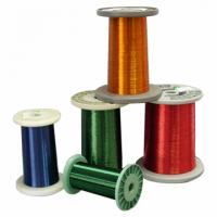 Cheap 12 SWG to 34 SWG Super Round Enamelled Aluminium Wire coated for motor wholesale