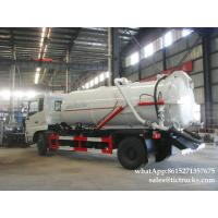 Cheap King Run vacuum tanker truck- 8000L- 10000L septik tank truckCesspool Emptying Truck EURO 4/5 App:8615271357675 wholesale