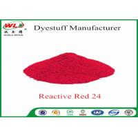 Cheap Textile Dyeing Chemicals Reactive Brill Red K-2BP C I Reactive Red 24 wholesale