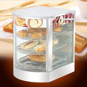 Cheap Restaurantcurvedglasscommercialfoodwarmers Warming Showcase wholesale