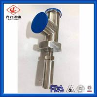 Cheap Welded Tee Hygienic Pressure Relief Valve High Polished Corrosion Resistant wholesale