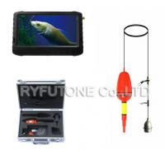 Cheap Wireless Underwater Fish Finder Mini Camera + 5inch 1.2GHz DVR Screen Monitor for sale