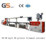 Cheap 30 50 Kg / H 3D Printer Filament Extruder / Extrusion Line , ABS Pla Filament Extruder wholesale