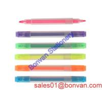 Cheap High quality clear multicolor highlighter pen in china wholesale