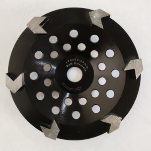 Cheap 175mm Arrow Segment 7 Diamond Concrete Cup Wheel For Granite wholesale