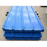 Cheap Blue Color Corrugated Galvanized Steel Roofing Sheet 0.28*1200*2000mm Size wholesale