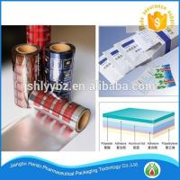 Cheap pharmaceutical use and laminated plastic roll film for flexible packaging wholesale