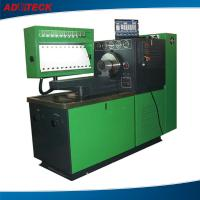China 220v 18.5KW Green Yellow diesel fuel pump test bench 0 - 60bar on sale
