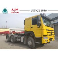 Buy cheap HOWO 6X4 Tractor Truck / Prime Mover With 420 HP For Fuel Transport from wholesalers
