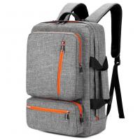 Cheap 17 Inch Laptop Tote Bag Grey Color , Travel Laptop Backpack Computer Bag wholesale