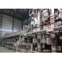 China Two Fourdrinier Wire Kraft Paper Making Machine Multi Dryers Right Hand Type on sale