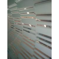 Tempered shower enclourses, office partions, acid etched glass, frosted glass,