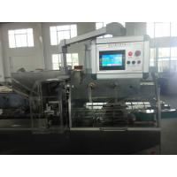 Cheap Touch Screen Automatic Cartoning Machine High Speed PLC Control System wholesale