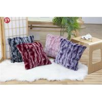 Cheap Shaggy Fancy Nordic Faux Fur Wholesale Decorative Pillow Cover With Invisible Zipper wholesale