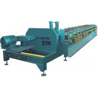 PLC Control C Purlin Roll Forming Machine / Z Purlin Machine With Hydraulic Cutter