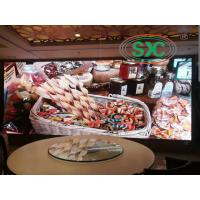 interior rental advertising p2.5mm 1R1G1B full  color Led Display With 1/16 scanning