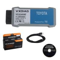 China Brand new WIFI VXDIAG VCX NANO OBD2 interface for Toyota Dealer Level Tool on sale
