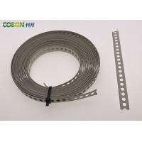Cheap Perforated Metal Fixing Band 10m Galvanized Steel With Color Powder Coated wholesale