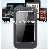 Buy cheap 5000 mAh Dual port usb portable solar energy power bank charger Solar Charger from wholesalers