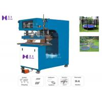 Cheap 15KW High Frequency PVC Welding Machine 1T Max Pressure For Welding Trampoline bed wholesale