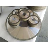 Cheap PCD Resin Bonded Diamond Grinding Wheels For Edge Grinding Machine High Precision wholesale