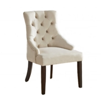 Cheap Hotel Upholstered H89cm High Back Fabric Dining Chairs wholesale
