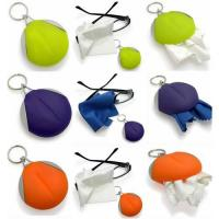 Microfiber cleaner cloth keychain