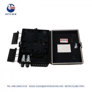 Cheap OEM Outdoor Waterproof Black ABS FDB Fiber Distribution Box 16 Cores wholesale